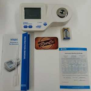 Hanna - HI96841 Digital Refractometer for Brewing
