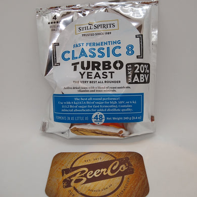 Classic 8 Turbo Yeast - Still Spirits