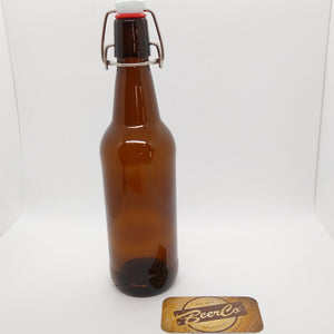 500mL Glass Amber Swing Cap Bottles - NEW!