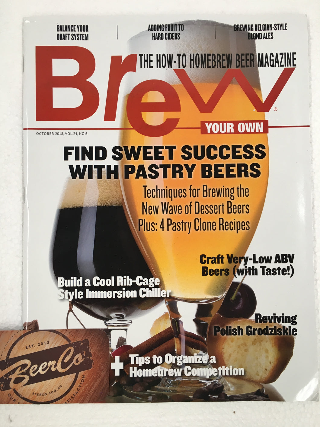 Brew Your Own - BYO Magazine - October 2018 - Vol. 24, No. 6