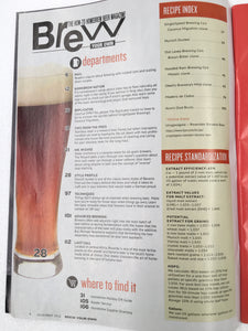 Brew Your Own - BYO Magazine - November 2018 - Vol. 24, No. 7