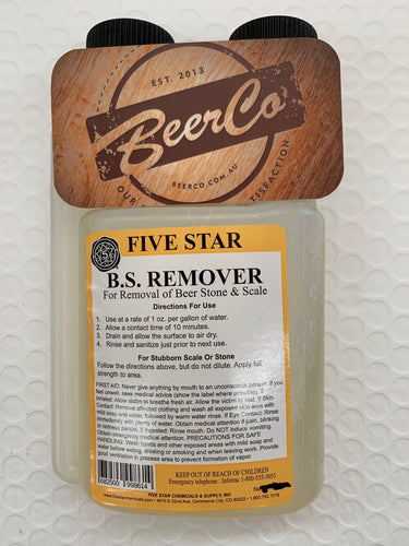 BS Remover - 8oz - Approx 235ml - Five Star Chemicals