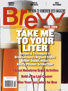 Brew Your Own - BYO Magazine - May-June 2018 - Vol. 24, No. 3
