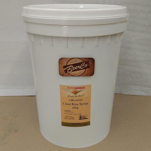 Clear Rice Malt Syrup DE/42 - 25 Kg Pail - NEW!