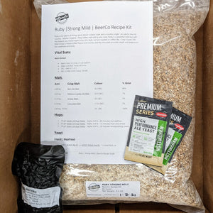 Ruby - Strong Mild - BeerCo All Grain Recipe Kit
