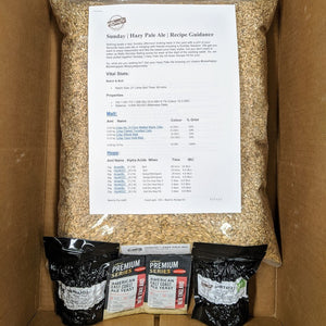 Sunday - Hazy Pale Ale - BeerCo Recipe Kit