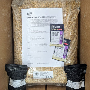 Two Heads - IPA - BeerCo All Grain Recipe Kit