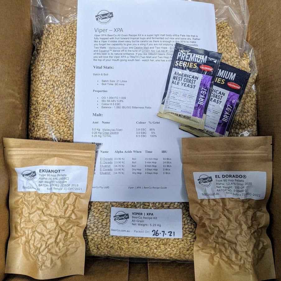 Viper - XPA - BeerCo Recipe Kit