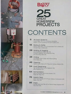 BYO-25 Great Homebrew Projects Contents Page