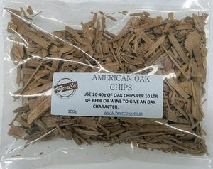 American Oak Chips 100gm