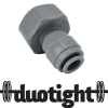 "duotight 8 mm (5/16"") Push In to 5/8"" to suit Keg Couplers and Tap Shanks"