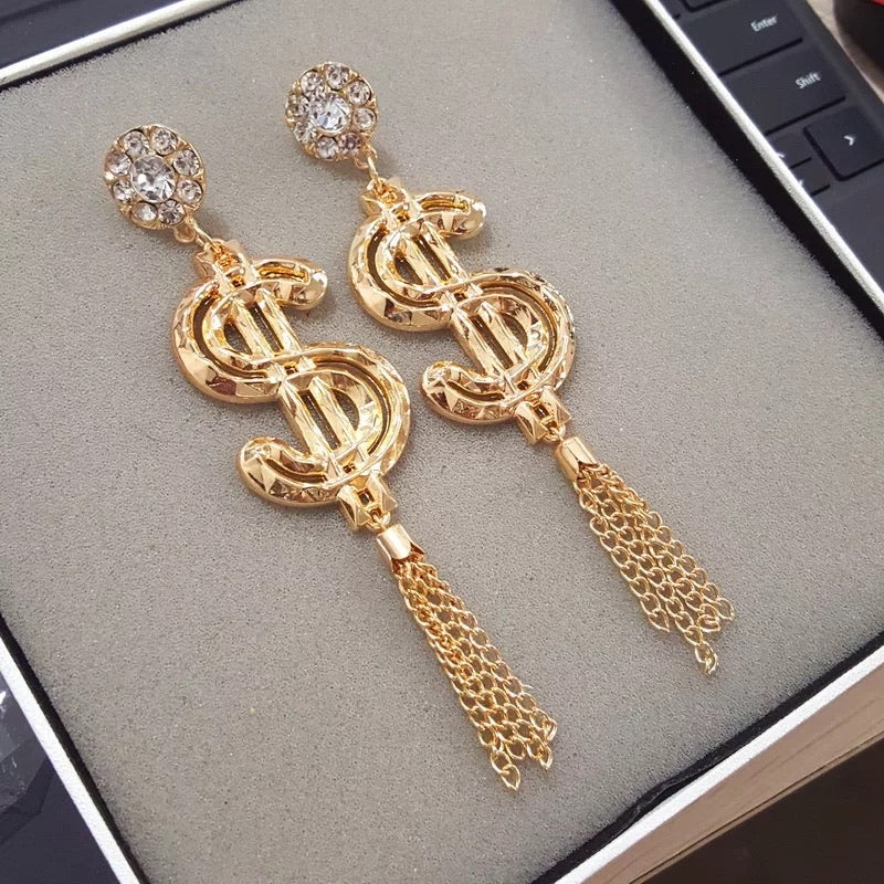 Tassel $$ Drop Earrings