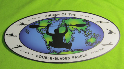 Church of the Double-Bladed Paddle Global Stickers