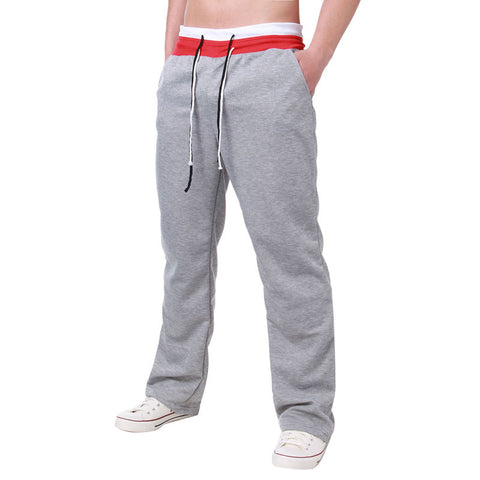 Mens Pants 2018 Mens Sweatpants Loose Casual Sweatpants Straight Trousers All-matched Joggers Workout Pants Teenage Boy Trousers