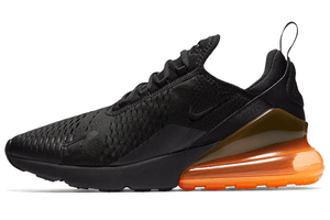 NIKE AIR MAX 270 Black & Orange