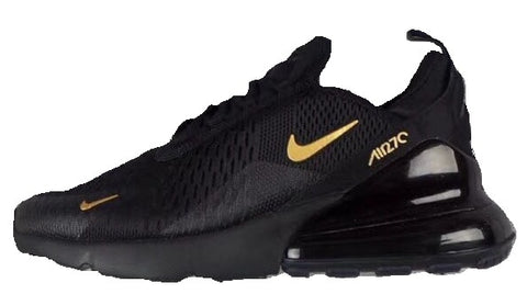 NIKE AIR MAX 270 Black & Gold