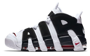 NIKE AIR MORE UPTEMPO White-Black