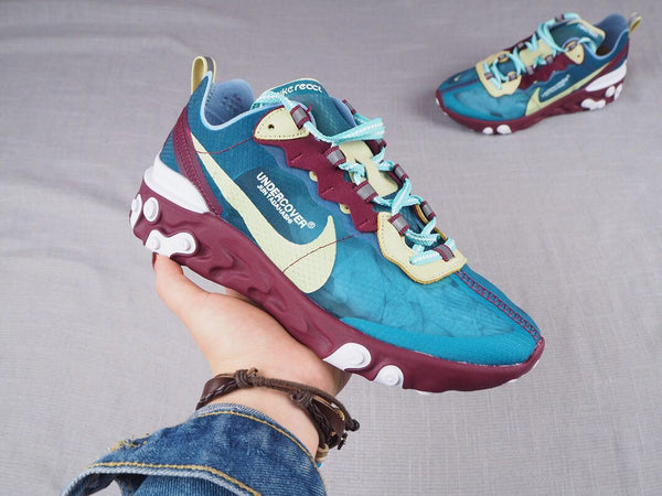 NIKE REACT ELEMENT 87 X UNDERCOVER Blue