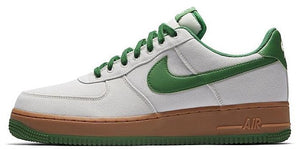 NIKE AIR FORCE 1 07 TXT LIGHT CASUAL Green - Blue