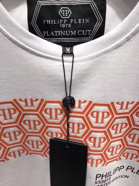 Philipp Plein Strip with Logo T-Shirt