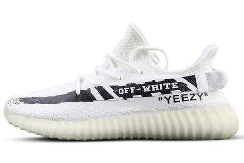 YEEZY BOOST 350 V2  X OFF WHITE White-Black
