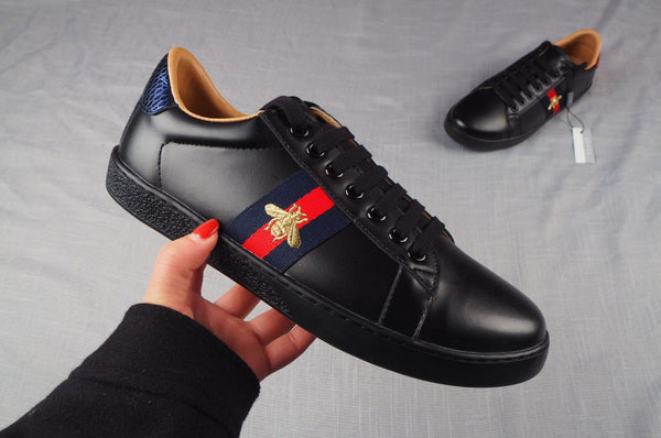 GUCCI ACE SNEAKERS Unisex Black