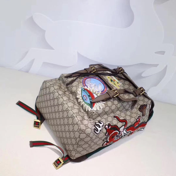 GUCCI BACKPACK MULTIPATCH