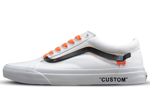 VANS OLD SKOOL X OFF WHITE White