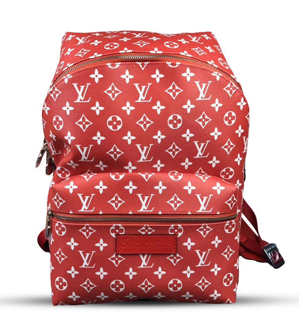 LOUIS VUITTON X SUPREME LOGO BACKPACK