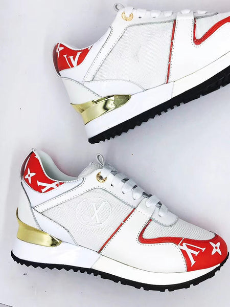 LOUIS VUITTON RUN AWAY SNEAKER Red-Blue