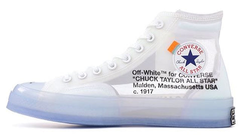 "CONVERSE ALL STAR X OFF WHITE ""VULCANIZED"""