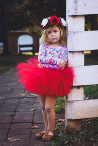 Red Cheeky Tutu, Tushy Tutu