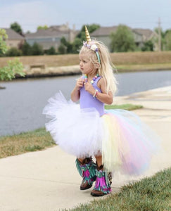 Hi Low Unicorn Tutu, High Low