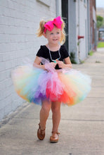 Two Toned Bright Rainbow Tutu