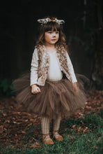 Brown Tutu Skirt, Deer Tutu, Fawn