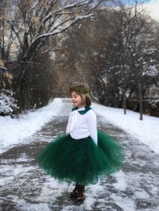 Hunter Green Tutu Skirt