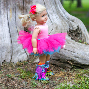 Doll Tutu In Two Toned