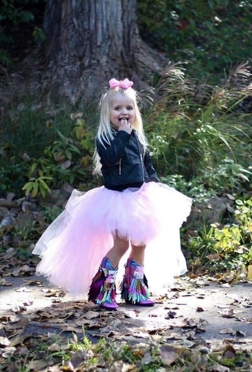 Light Pink Hi Low, High Low Tutu