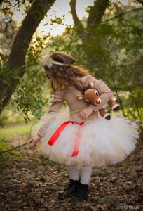 Clarice Inspired Tutu Skirt, Rudolph The Red Nosed Reindeer