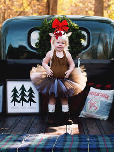 Rudolph Inspired Tutu Skirt, Rudolph The Red Nosed Reindeer
