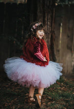 Double Layer White And Pink Valentine Tutu