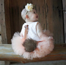 Bunny Tail Tutu Skirt, Easter Tutu