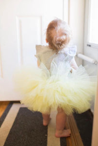 Light Yellow Tutu Skirt
