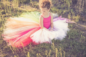 Unicorn Hi Low, Rainbow High Low Tutu