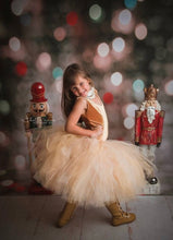 Gold Shimmer Tutu Skirt, Nutcracker Inspired