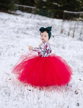 Red Tutu Skirt, Holiday Tutu