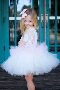 Stacked Icing Ivory And Light Pink Tutu