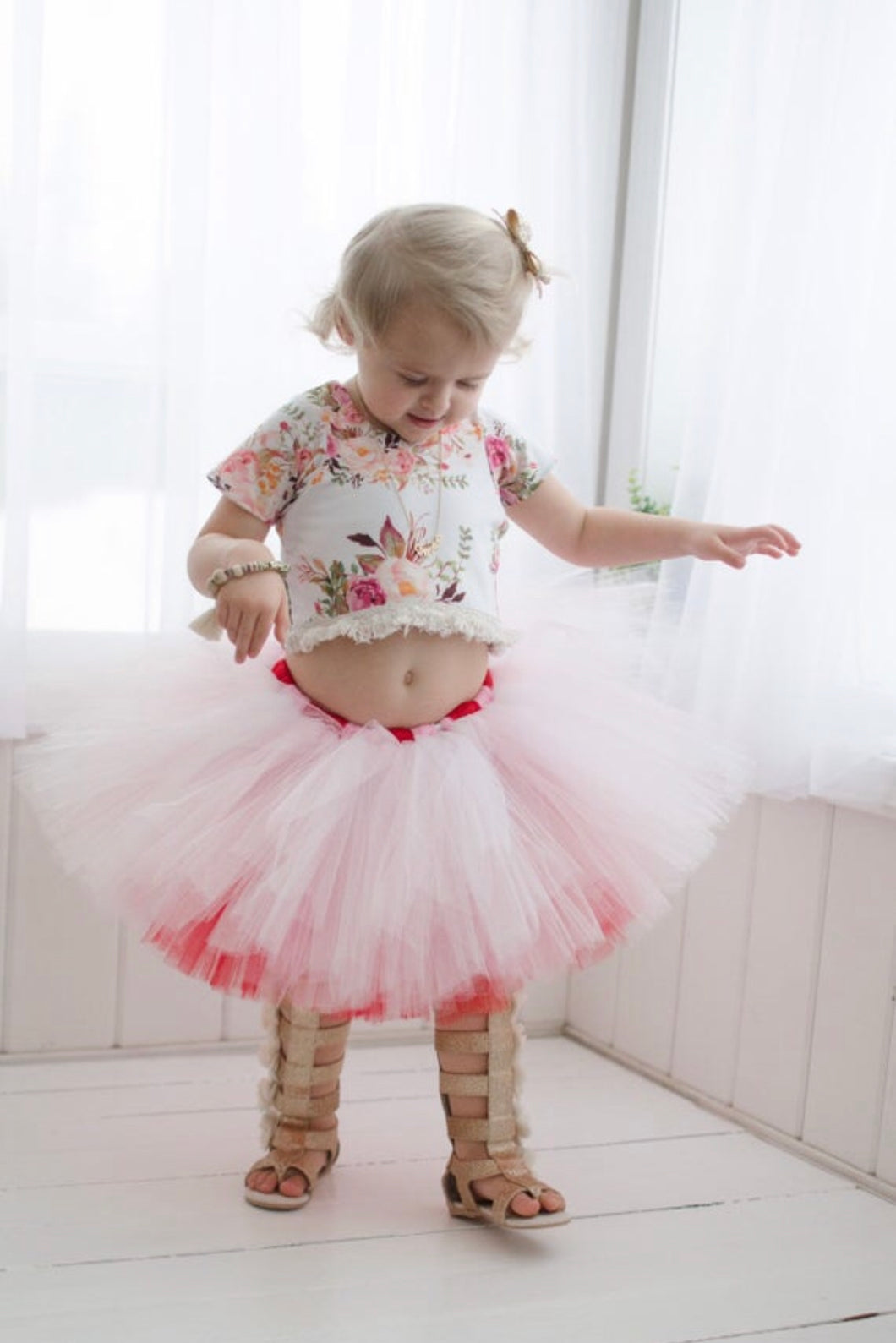 Two Toned Valentines Day Tutu