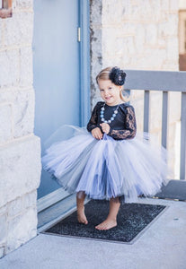 Double Layer Monochrome Tutu
