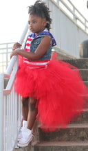 Red Hi Low, High Low Tutu